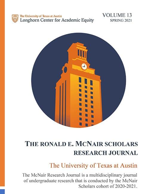 2021 McNair Journal Cover