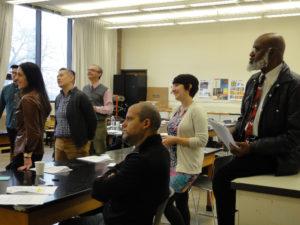 Diversity workshop w Betty Jeanne Taylor
