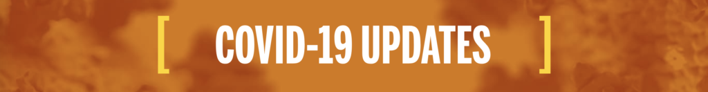 UT's COVID-19 Updates banner