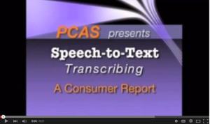 Speech to Text Transcribing