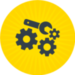 Power And Privilege Round Icon