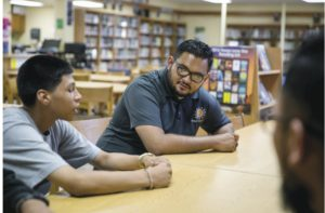 mentee, mentor in the library