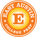East Austin College Prep sun logo