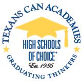 Texans CAN Academy Mortarboard Logo