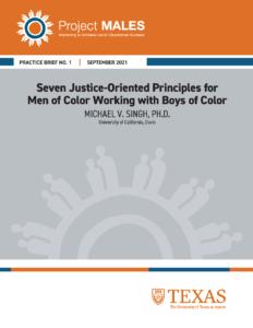 Practice Brief No. 1 Cover in orange and grey accents