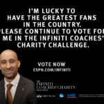 Support NLP, Coach Smart in the Infiniti Challenge!