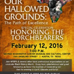image of Our Hallowed Grounds poster