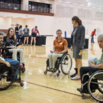 image of adapted sports event