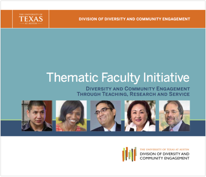 Thematic Faculty Initiatives 2014