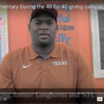 40 Hours to show our passion for community and diversity efforts at the Forty Acres