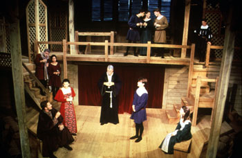 Shakespeare at Winedale production