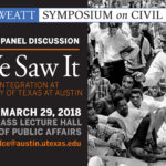Save the Date! 'As We Saw It' Book Talk and Panel Discussion is on March 29