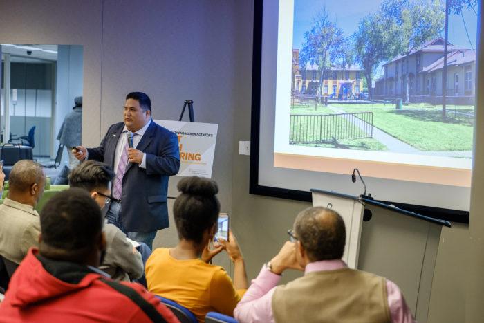 Ruben Cantu speaking