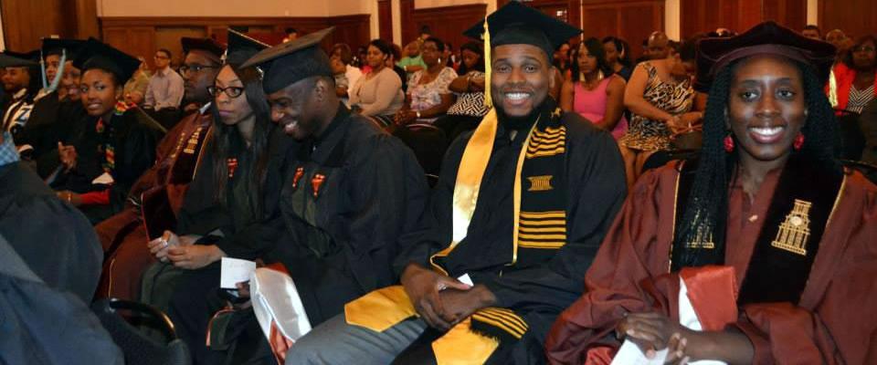 image of black graduation