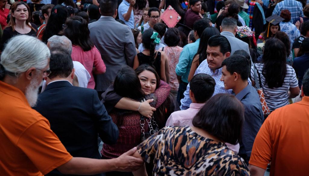 image of Latinx graduation