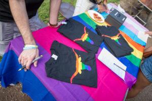 image of pride shirts