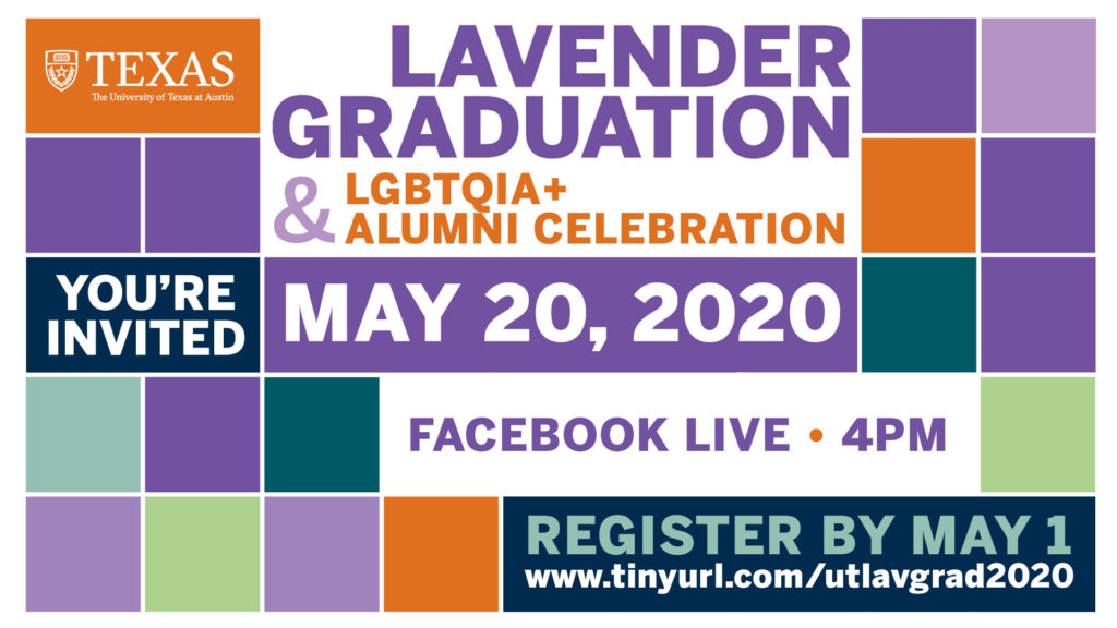 image of lavender graduation poster