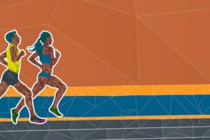 Black Student-Athletes, running