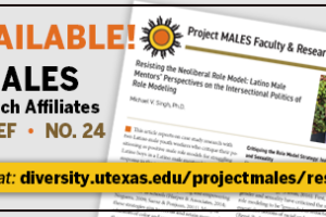 banner of project males research brief