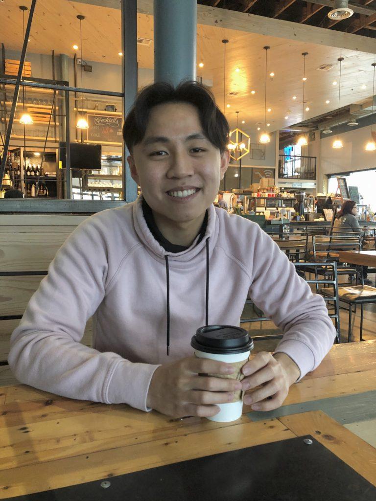 David Wang of the UT NLP Join the Herd