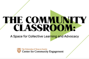 image of 2021 spring community classroom UT