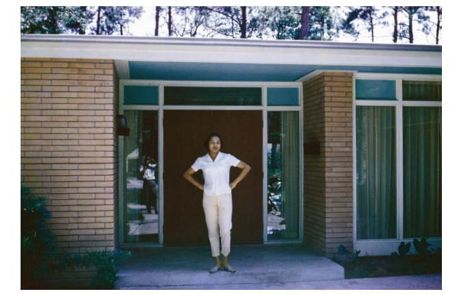 Drucie Chase, Chase Residence, Houston, Texas, ca. 1959