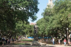 MLK statue UT Austin campus