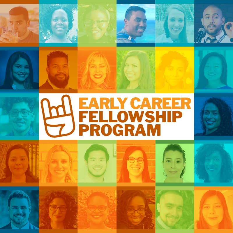 Collage of Early Career Fellows headshots