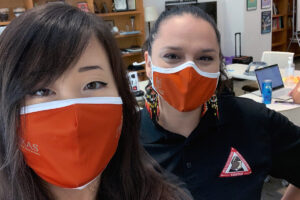 From left: MEC instructors Hollie Yang and Krysta Chacon