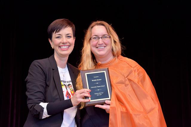 Brenda Deemer, Teacher of the Year, Special Education Teacher at UT-UCS