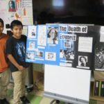 UTES Fifth Graders Present Civil Rights Timelines