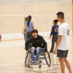 Students, Athletes Come Together at Adapted Sports Night