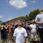UT Elementary Takes in the Eclipse