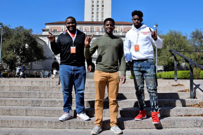 Image of Darnell with students