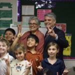 President Fenves Tours UT Elementary