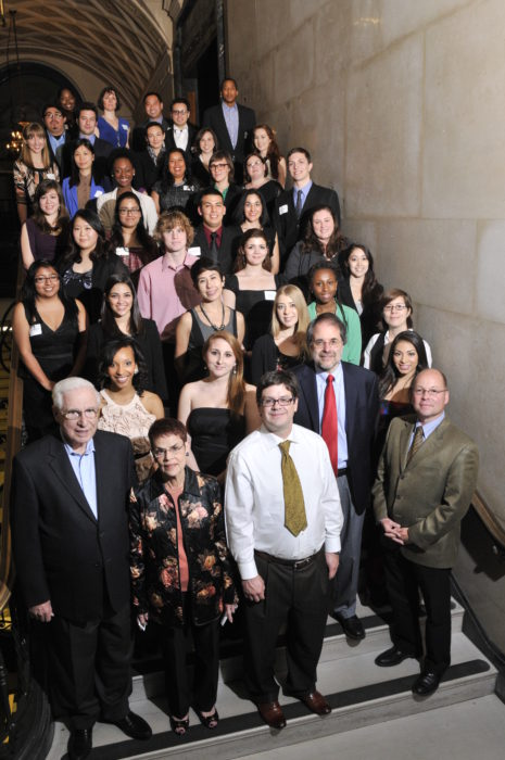 group shot of Kuhn Scholars