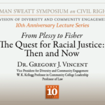Heman Sweatt Symposium: Dr. Vincent Presents on Affirmative Action
