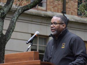 Dr. Vincent at MLK Day celebration