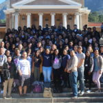 81 Students in Cape Town, South Africa, for Interim VP Leonard Moore's Study Abroad Program