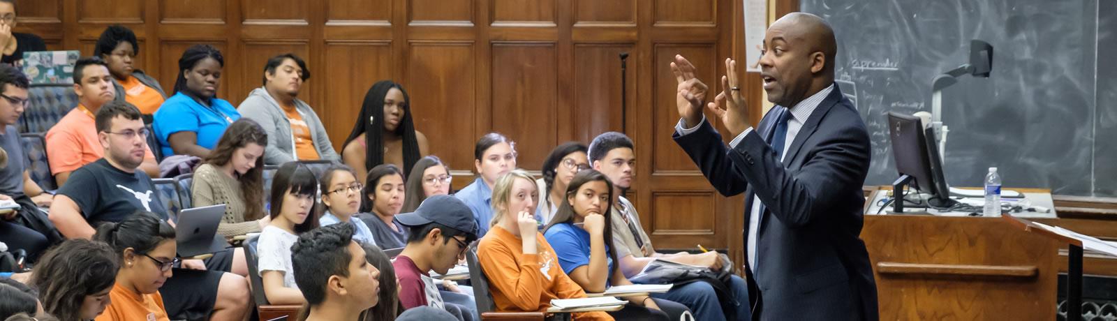 Professor Leonard Moore Named VP for Diversity and Community Engagement