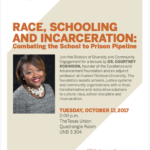 Race, Schooling and Incarceration: Combating the School to Prison Pipeline