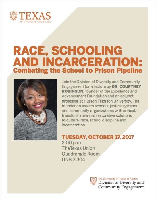 Robinson Lecture Flyer