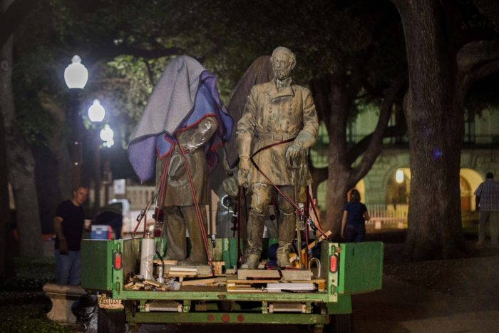 statue removed