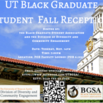 Save the Date: Black Graduate Student Association to Host Fall Reception Nov. 14