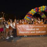 DDCE Joins UT Celebration at PRIDE Parade