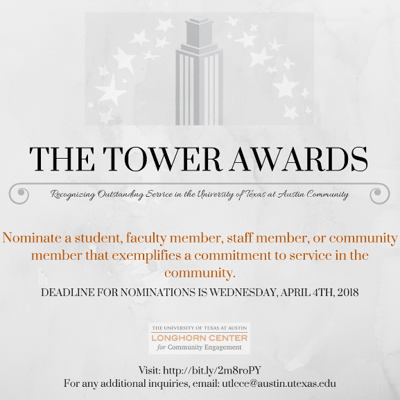 image of tower awards poster